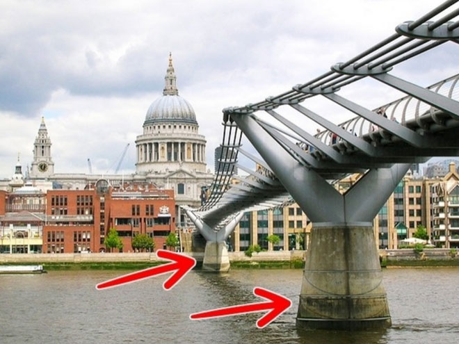 Millennium, cây cầu nhảy múa