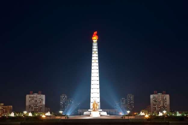 Tháp Juche ở Bình Nhưỡng.