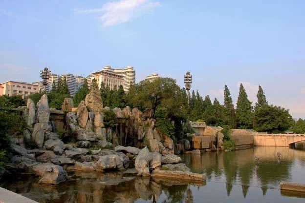 Công viên đài phun nước Mansudae, Bình Nhưỡng.