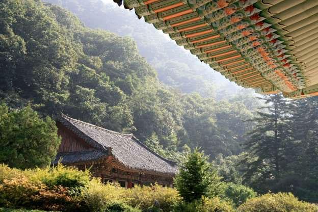 Núi Myohyangsan.