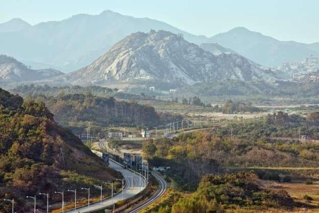 Khu vực phi quân sự với Hàn Quốc.
