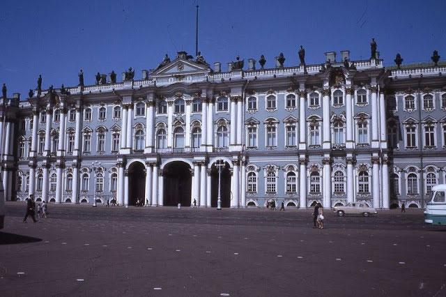 Cung điện Mùa đông năm 1968.