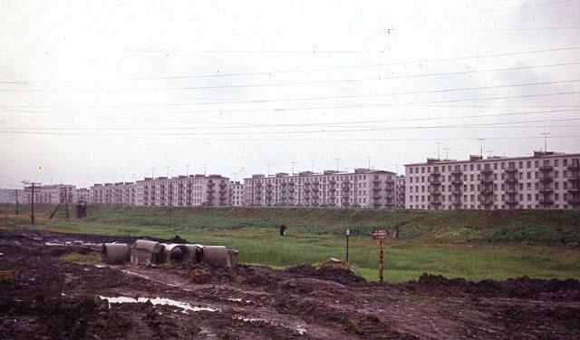 Những ngôi nhà theo phong cách Liên Xô năm 1963.