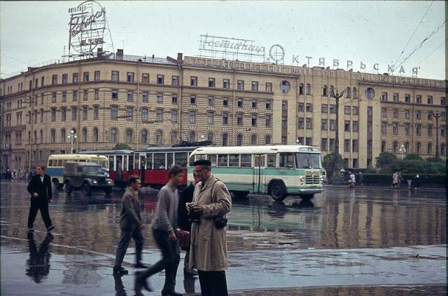 Đường phố Leningrad năm 1963.