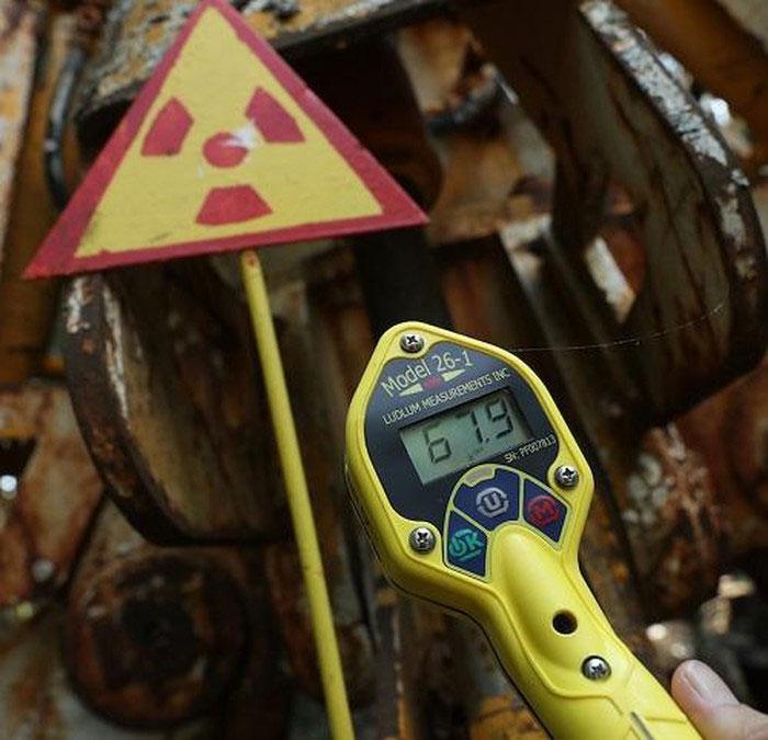 Hàm lượng phóng xạ vẫn còn ở mức cao sau 33 năm.