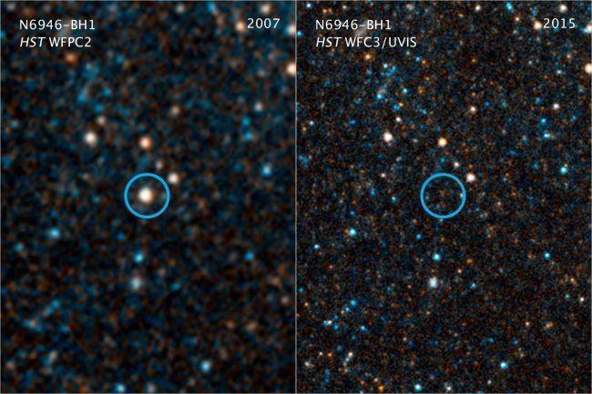Năm 2009, ngôi sao khổng lồ N6946-BH1 sáng hơn 1 triệu lần so với Mặt trời được tìm thấy.