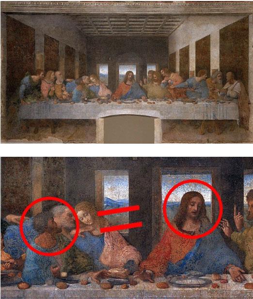 """Bức họa """"Bữa tối cuối cùng"""""""