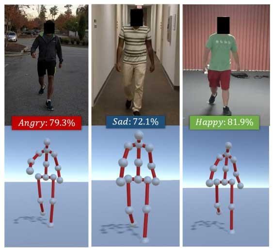 Mô hình deep learning này có thể đoán được 4 cảm xúc khác nhau - vui, buồn, giận dữ và bình thường.