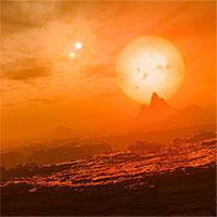 """Phát hiện """"Trái đất đá"""" có cùng lúc 3 mặt trời"""