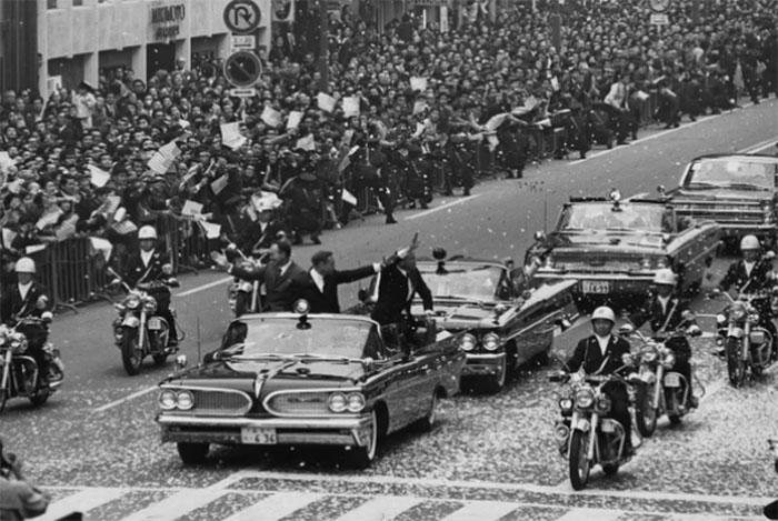 Các phi hành gia ở Tokyo, ngày 4 tháng 11 năm 1969.