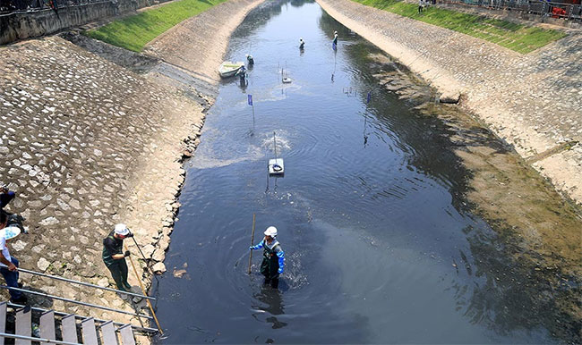 Nhật Bản vẫn tài trợ, thí điểm miễn phí hoàn toàn dự án làm sạch sông Tô Lịch.