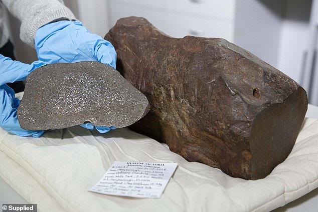 Khối đá tưởng là đồ bỏ đi lại chính là một phần thiên thạch 4,6 tỷ năm.