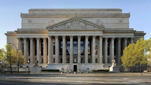 Trụ sở Cục Lưu trữ Quốc gia Mỹ.