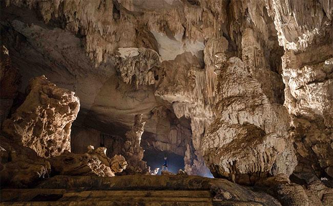 Hệ thống thạch nhũ trong hang Thiên Đường được công nhận đạt kỷ lục châu Á.
