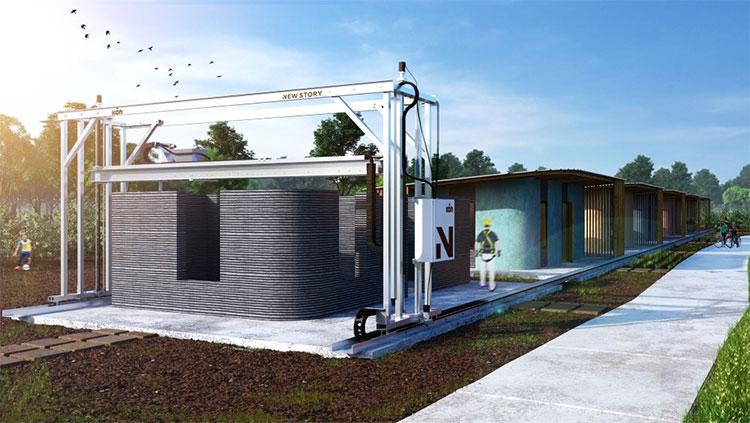 Một ngôi nhà in 3D