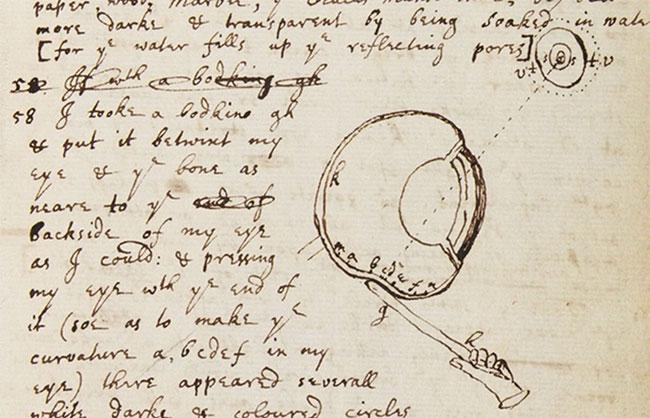 Thí nghiệm kinh dị của Newton.