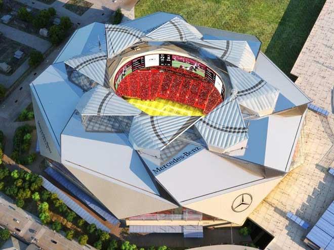 Mái vòm rút lại được của sân vận động