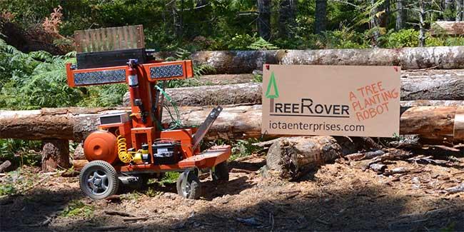 Robot TreeRover