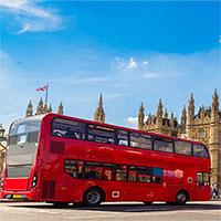 Thử nghiệm nghiêng 30 độ xe buýt hai tầng ở London
