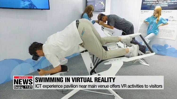 Trong môi trường thực tế ảo, người dùng vẫn có cảm giác y như lặn thật, trong khi vẫn được đảm bảo an toàn.
