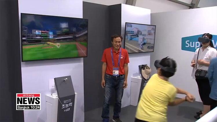 Nơi đây còn có một số môn chơi dưới nước khác, cũng bằng công nghệ thực tế ảo