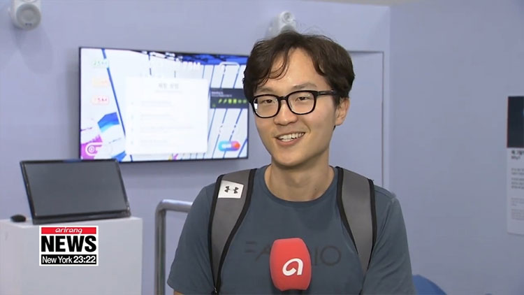 Anh Kim Ji-ho, một khách tham quan, chia sẻ về trải nghiệm của mình.