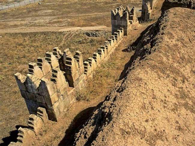 Tàn tích của nền văn minh Nineveh.