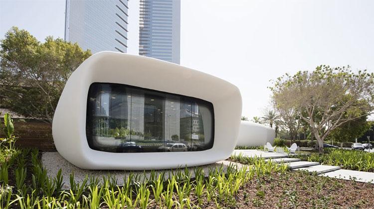 Văn phòng in 3D đầu tiên ở Dubai.