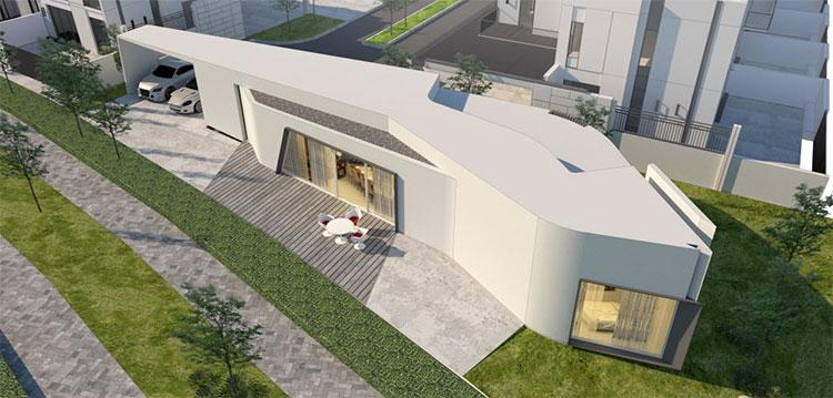 Dự án xây nhà bằng phương pháp in 3D thuộc khu phức hợp Arabian Ranches III ở Dubai.