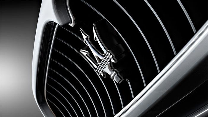 Logo xe Maserati