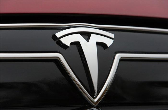 Logo xe Tesla