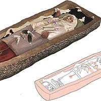 """Hài cốt 2.200 năm của người phụ nữ trong """"quan tài"""" cây"""