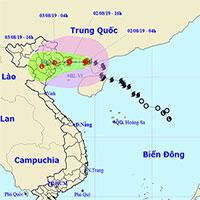 Bão đổ bộ Quảng Ninh - Nam Định, mưa lớn tới 400mm, nước dâng 4,0-4,5m