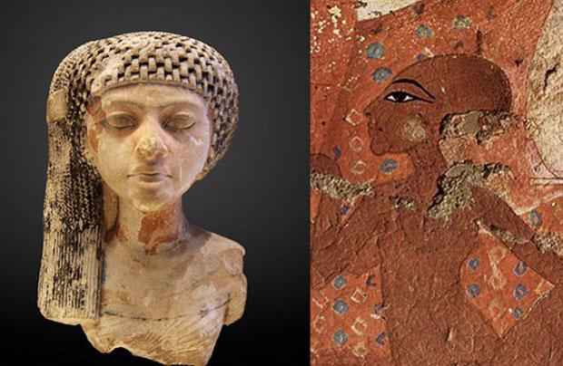 Bức hình được cho là nữ hoàng Neferneferuaten Ankhkheperure.