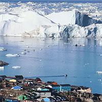Greenland mất gần 200 tỷ tấn băng trong một tháng