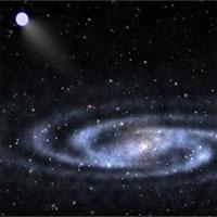 """Ngôi sao bay hơn 1.000km/giây sau khi """"trốn"""" khỏi siêu hố đen"""