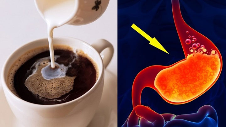 Cà phê làm tăng cao nguy cơ bị viêm loét dạ dày