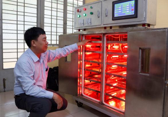 Hệ thống sấy hồng ngoại thông minh DS.IR-03