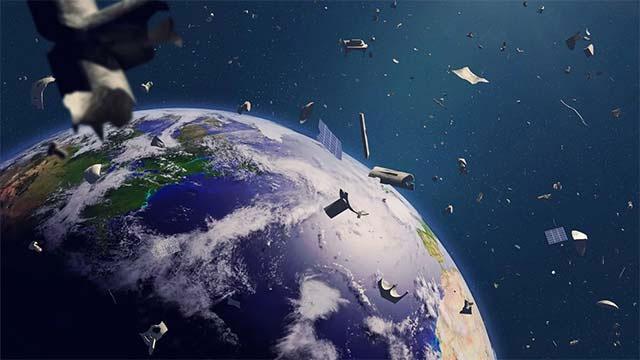 Rác thải vũ trụ trôi nổi ngày một dày đặc trong Quỹ đạo Trái đất.