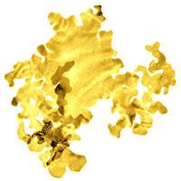 Chế tạo thành công lá vàng mỏng nhất thế giới