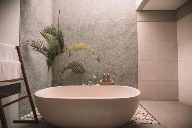 Phòng tắm sang trọng của người La Mã cổ.