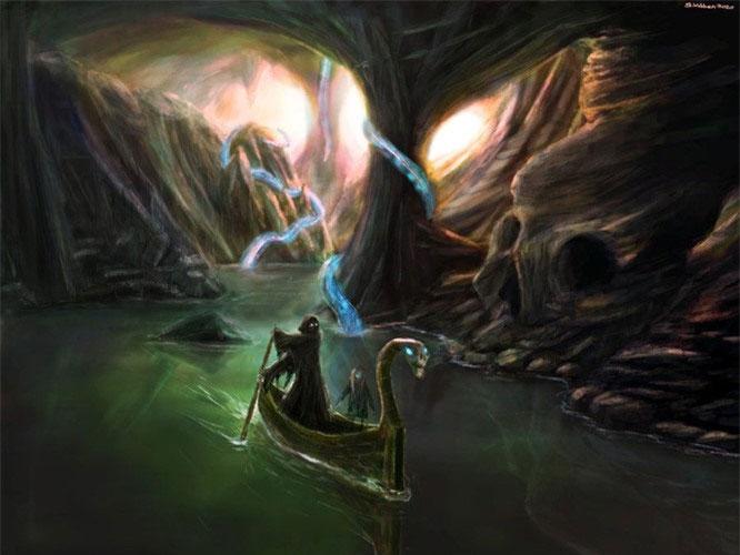 Nước sông Styx vô cùng nguy hiểm khi có thể ăn mòn mọi thứ