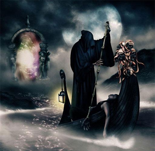 Sông Styx là cửa ngõ dẫn tới cõi âm.