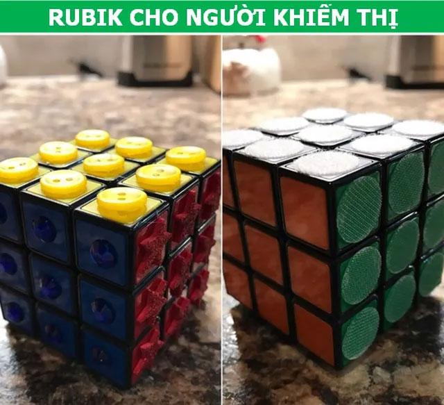 Rubik cho người khiếm thị