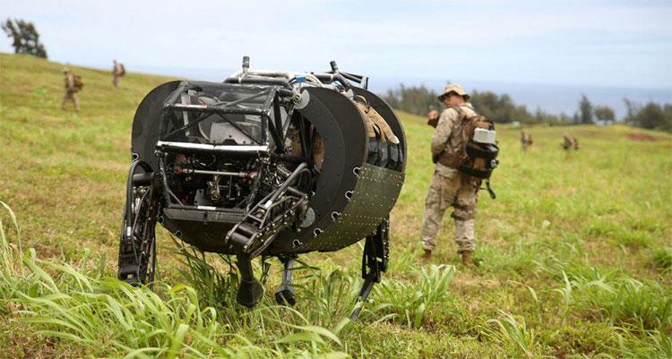 BigDog - robot khổng lồ hình chó