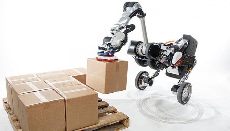 Robot hình chim Handle