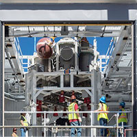 Cận cảnh quá trình thử nghiệm hệ thống tên lửa đẩy trên tàu vũ trụ Orion của NASA