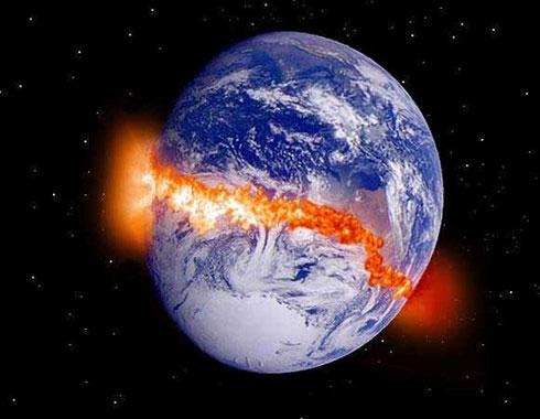 Số người thiệt mạng sẽ vô cùng lớn trên khắp hành tinh khi Trái đất bị chia làm đôi.
