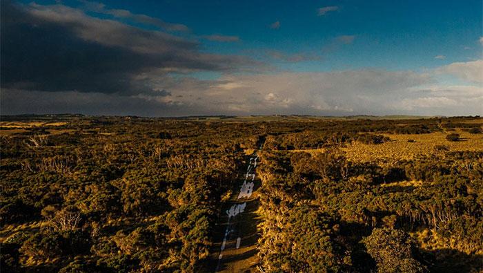 Tuần qua, công tác phá dỡ, giải phóng mặt bằng trên đảo Phillip mới hoàn thành.