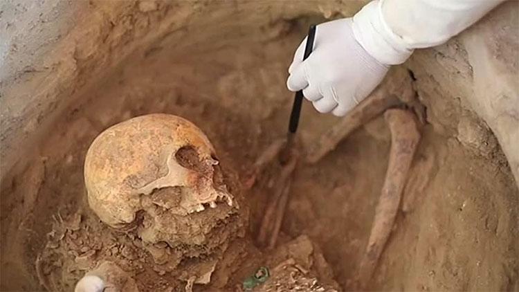 Hai hầm mộ cổ trong tình trạng nguyên vẹn.